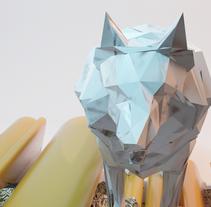 The Wolf . Um projeto de 3D de ENMANUEL RONDON         - 30.01.2018