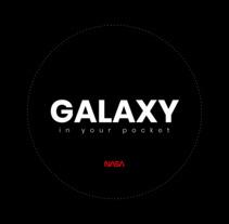 Proyecto (Dirección de arte digital): Galaxy by NASA Web Concept. Um projeto de Design, UI / UX, Direção de arte, Design interativo e Web design de agustinesoria96         - 31.01.2018