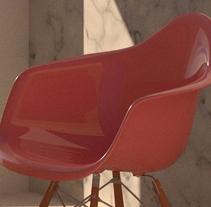 Solitaria pero positiva. A 3D&Interior Design project by Elena Sellés Vallès - 10-11-2017
