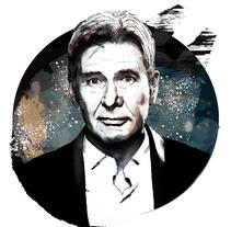 Mi Proyecto del curso: Retrato ilustrado con Photoshop - Harrison Ford. Un proyecto de Ilustración de Pedro Fernandez Iñigo         - 09.02.2018