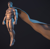 Superman. A 3D project by gesiOH         - 13.02.2018