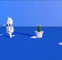 Corto animación 3D sobre el invierno.. Un proyecto de Motion Graphics, Cine, vídeo, televisión, 3D, Animación, Diseño de personajes, Diseño gráfico, Escenografía, Cine, Vídeo, VFX, Rigging y Animación de personajes de Ivan PC         - 17.02.2018