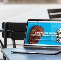 Re-diseño TournamentCloud.com. Um projeto de Direção de arte e Desenvolvimento Web de pablitolorenzatti         - 19.02.2018