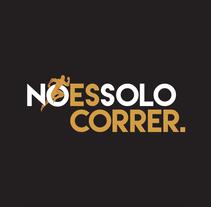 """DISEÑO LOGOTIPO """"No es solo correr"""". A Advertising, and Graphic Design project by Edgar Tomás Pagan         - 14.05.2015"""