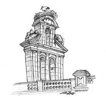 Alcalá de Henares sketchbook #3. Um projeto de Ilustração de Chema G. Baena Art         - 27.02.2018