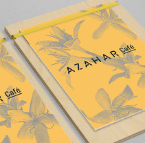 Azahar café | Menú. A Design, and Art Direction project by Andres Bruno         - 02.03.2018