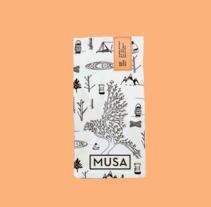 Mi Proyecto del curso: Diseño de packaging. Um projeto de Ilustração, Br, ing e Identidade, Packaging e Ilustración vectorial de laura_dasafe         - 09.03.2018