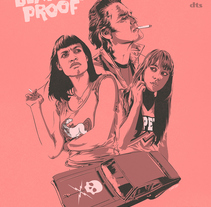 Death Proof.. A Illustration, and Vector illustration project by CranioDsgn         - 13.02.2018