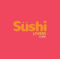 (WIP) Sushi lovers cafe. Um projeto de Ilustração, 3D e Direção de arte de María Fernández         - 21.03.2018