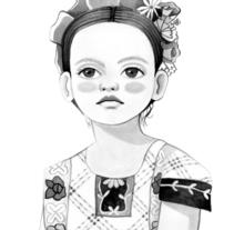 Mi Proyecto del curso: Introducción a la ilustración con tinta china. A Illustration, and Painting project by Alejandra Díaz         - 21.03.2018