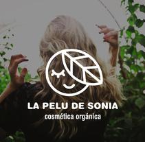 La pelu de Sonia. Un proyecto de Diseño, Br, ing e Identidad y Diseño gráfico de Almudena La Orden         - 28.03.2018