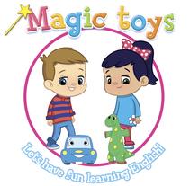 Magic toys - método didáctico infantil. Un proyecto de Ilustración, Dirección de arte, Diseño editorial y Packaging de Aurora Tristán         - 03.04.2018