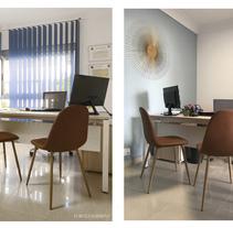 Nuevo proyectoDiseño Oficina Asesoria-Gestoria Oliver-Torrens, Palma de Mallorca #interiordesign #officedesign. A Architecture project by CRISTINA FORTEZA         - 06.04.2018