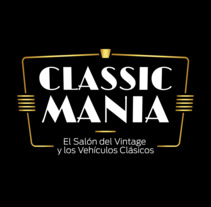 Logotipo Classic Mania. A Design, Art Direction, and Graphic Design project by Javier Gómez Ferrero         - 07.04.2018