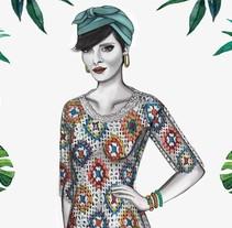 HIBISCUS- Propuesta de colección cápsula para Zara Woman SS2017. A Illustration, Art Direction, Costume Design, Fashion, Graphic Design, Digital retouching, and Vector illustration project by Carolina Oliver Gómez         - 10.04.2018