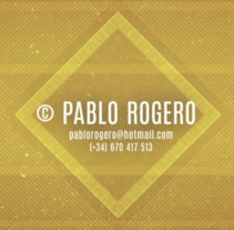 Showreel 2018. Um projeto de Motion Graphics e Vídeo de Pablo Rogero San José         - 13.04.2018