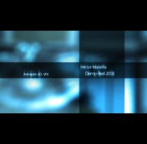 Demo Reel 2018. Um projeto de 3D, Animação, Infografia e VFX de Héctor Moratilla         - 16.04.2018