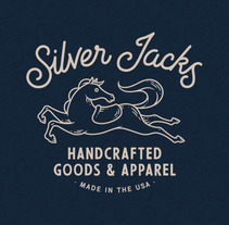SILVER JACKS. A Illustration, Art Direction, Br, ing, Identit, Graphic Design, and Lettering project by Chris Lago         - 22.03.2018